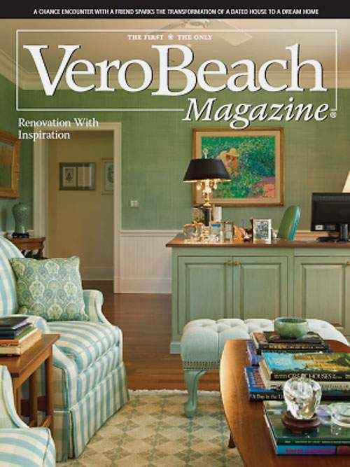 Vero Beach Magazine Article Titled U0027Renovation With Inspirationu0027. Click  Here To Open In